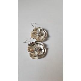 Sterling silver earrings Flowerin '
