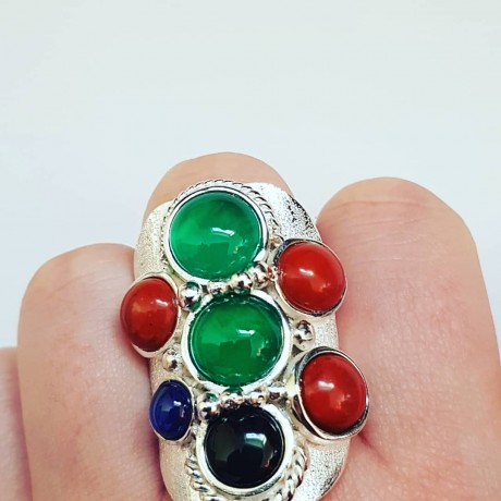 Sterling silver ring Heart's Youngest Code, Bijuterii de argint lucrate manual, handmade