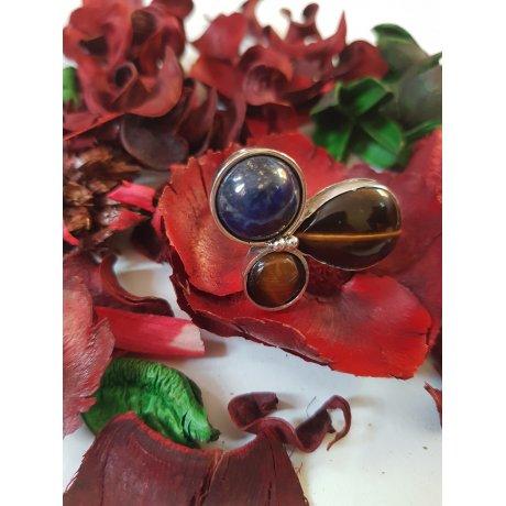 Sterling silver ring Finest Flower, Bijuterii de argint lucrate manual, handmade