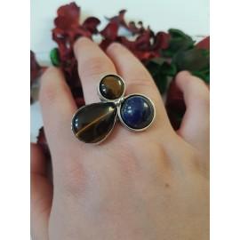 Sterling silver ring Finest Flower