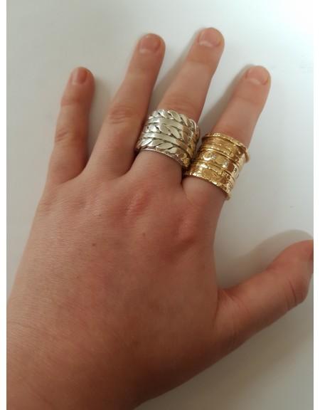 Imperial ring Ag 925, Bijuterii de argint lucrate manual, handmade