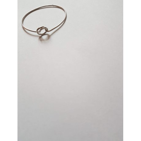 Sterling silver bracelet Confluence, Bijuterii de argint lucrate manual, handmade