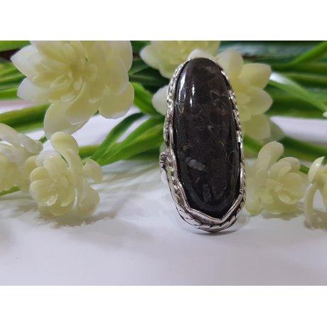 Sterling silver ring with natural sardonix Addiction , Bijuterii de argint lucrate manual, handmade