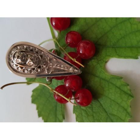 Sterling silver ring Touch of Summer , Bijuterii de argint lucrate manual, handmade