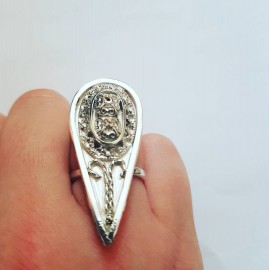 Sterling silver ring Touch of Summer