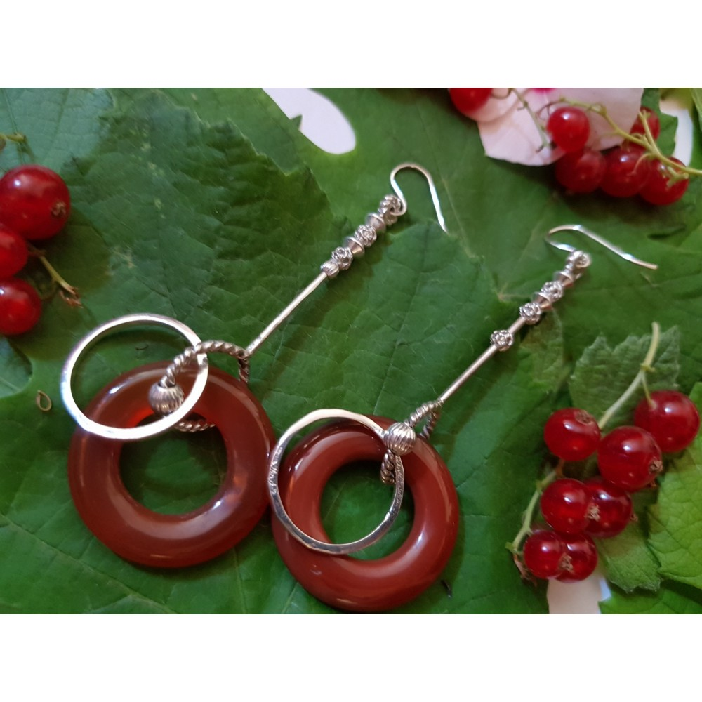 Sterling silver Earrings Love Scales