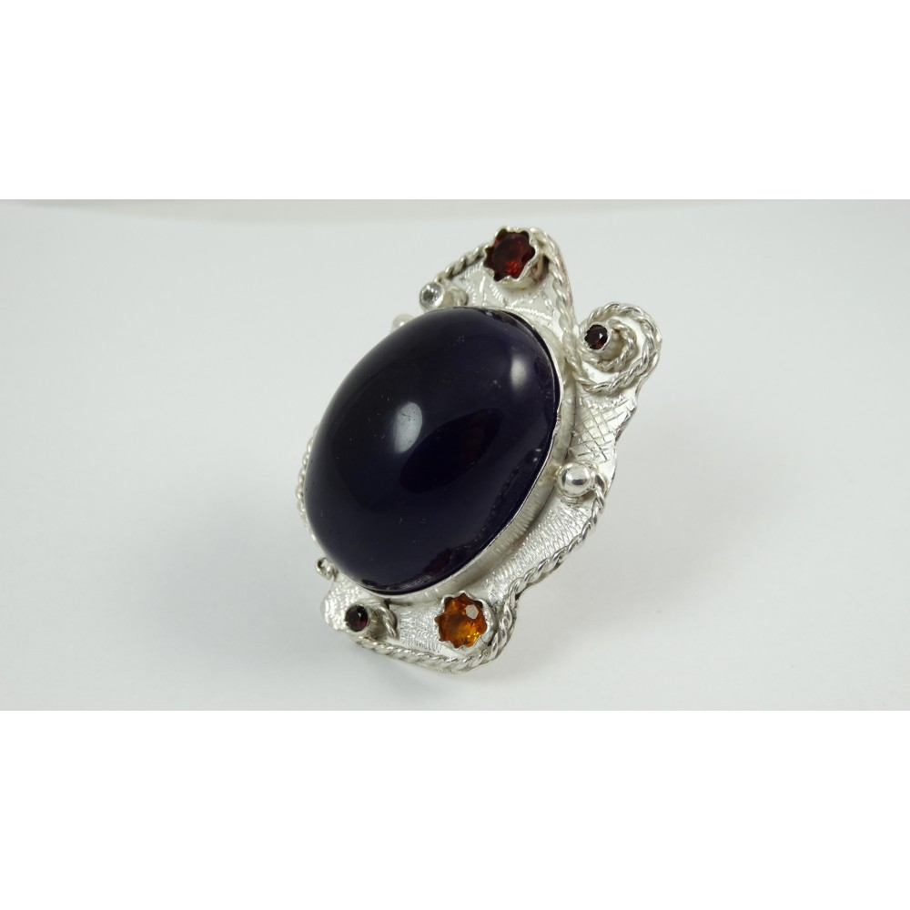 Sterling silver ring Royaume d'Eclat