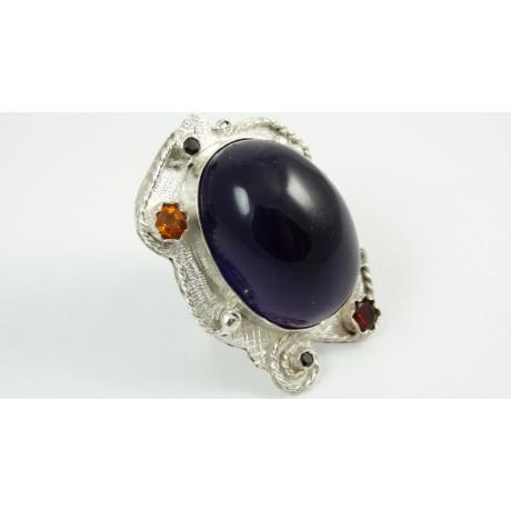 Sterling silver ring Royaume d'Eclat , Bijuterii de argint lucrate manual, handmade