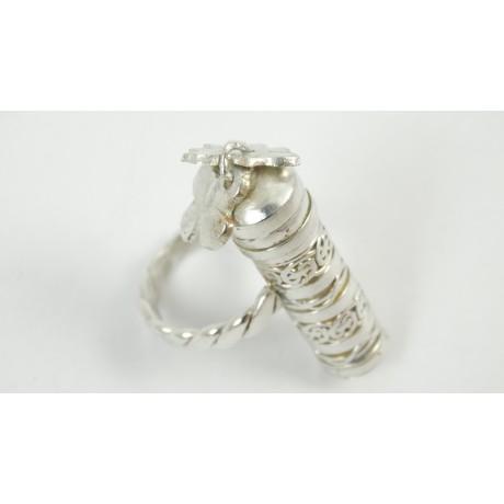 Sterling silver ring Love of Old, Bijuterii de argint lucrate manual, handmade
