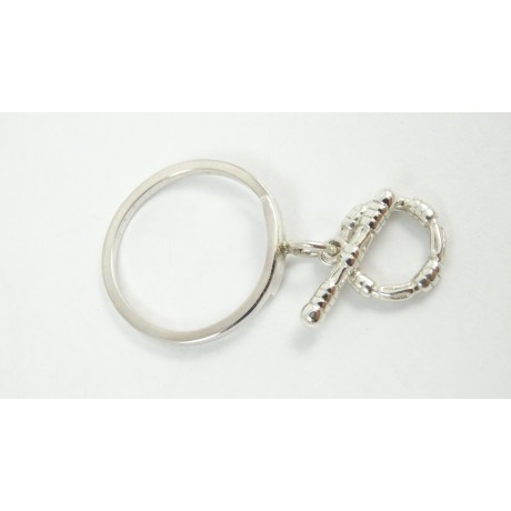 Sterling silver ring Vicious Kicks, Bijuterii de argint lucrate manual, handmade