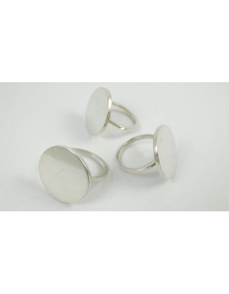 Sterling silver rings  Silver Rounds, Bijuterii de argint lucrate manual, handmade