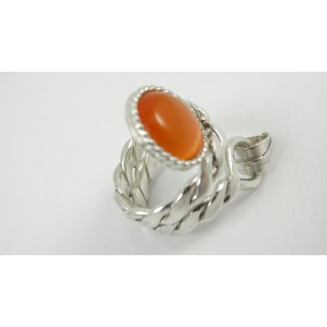 Sterling silver ring Give Yourself to Love, Bijuterii de argint lucrate manual, handmade