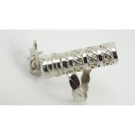 Sterling silver ring Recit Etoile, Bijuterii de argint lucrate manual, handmade