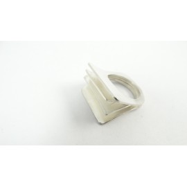 Sterling silver ring Flipping Cards