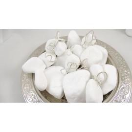 Sterling silver rings Will U B My Valentine