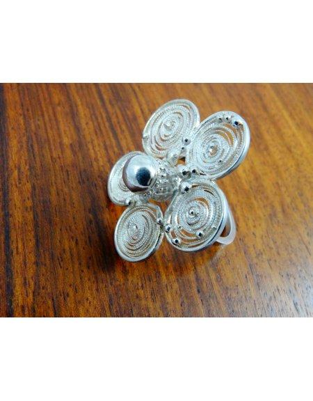 Inel Splendeur, Bijuterii de argint lucrate manual, handmade