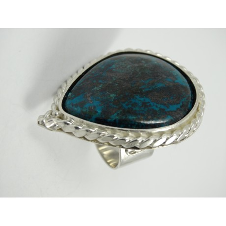 Sterling silver ring Spirit of Pleasure with large natural labradorite, Bijuterii de argint lucrate manual, handmade