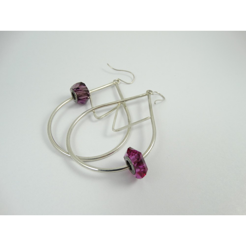Sterling silver earrings Choicest Morsel