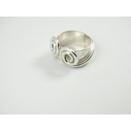 Sterling silver ring Lovely Bow