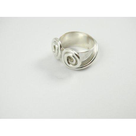 Sterling silver ring Lovely Bow, Bijuterii de argint lucrate manual, handmade