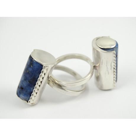 Inele LapisMood, Ag 925 cu lapis natural, Bijuterii de argint lucrate manual, handmade