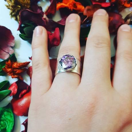 Sterling silver ring Bond, Bijuterii de argint lucrate manual, handmade