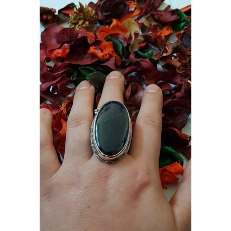 Sterling silver ring Rapture Chunks, Bijuterii de argint lucrate manual, handmade