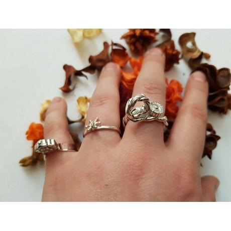 Set of 3 sterling silver rings Street Swagger, Bijuterii de argint lucrate manual, handmade