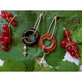 Handmade Sterling silver Earrings Mixandmatch