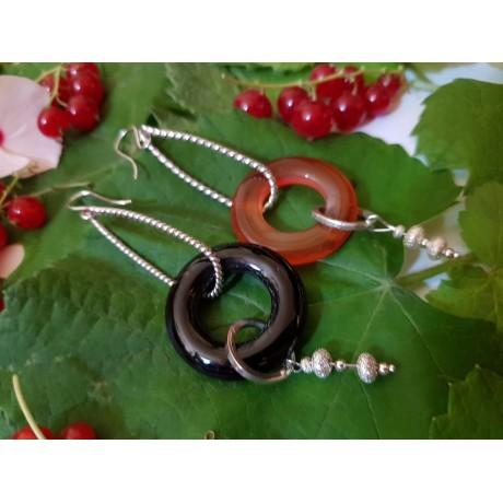Handmade Sterling silver Earrings Mixandmatch, Bijuterii de argint lucrate manual, handmade