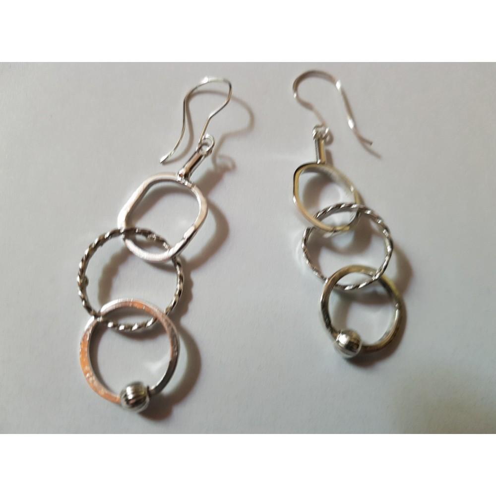 Sterling silver Earrings Glow lingers on