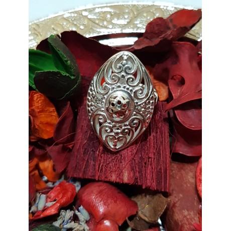 Massive Sterling silver ring Silver Pool, Bijuterii de argint lucrate manual, handmade