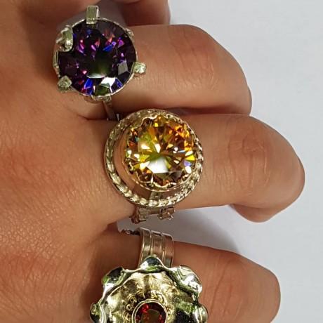 Sterling silver ring Love Carouselle, Bijuterii de argint lucrate manual, handmade