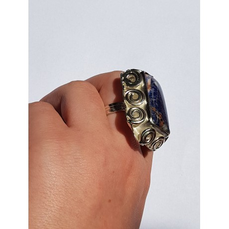 Sterling silver ring LUNATIC LOVE, handmade by Ibralhoff , Bijuterii de argint lucrate manual, handmade