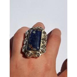 Sterling silver ring LUNATIC LOVE, handmade by Ibralhoff