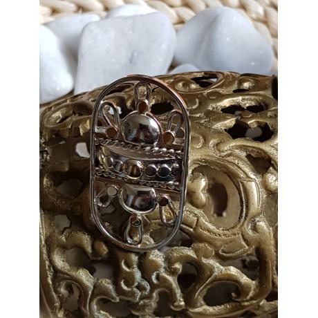 Large Sterling silver ring Revelry of Senses  GRAZIA AUREA,  handmade by Ibralhoff, Bijuterii de argint lucrate manual, handmade