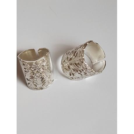 Sterling silver ring Love Safari, Bijuterii de argint lucrate manual, handmade