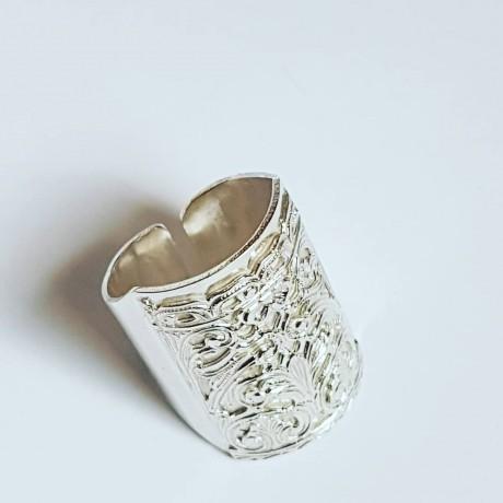 Sterling silver ring Safehaven, Bijuterii de argint lucrate manual, handmade