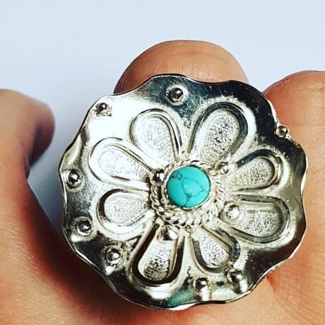 Sterling silver ring Endless Bloomin', Bijuterii de argint lucrate manual, handmade
