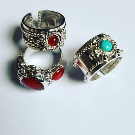 Sterling silver ring State of Drama, Bijuterii de argint lucrate manual, handmade