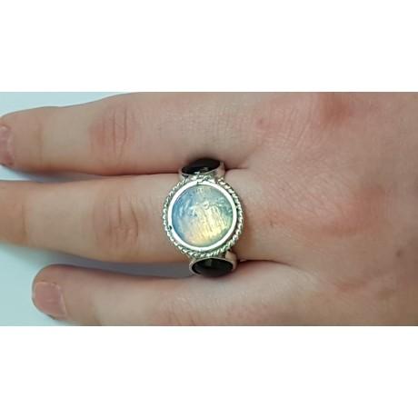 Sterling silver ring Weird Dialects, Bijuterii de argint lucrate manual, handmade