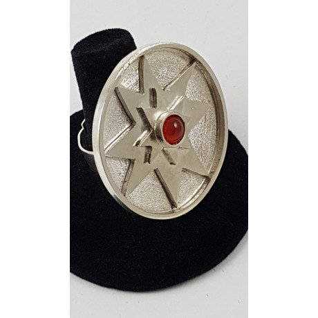 Sterling silver ring Homage to Light, Bijuterii de argint lucrate manual, handmade