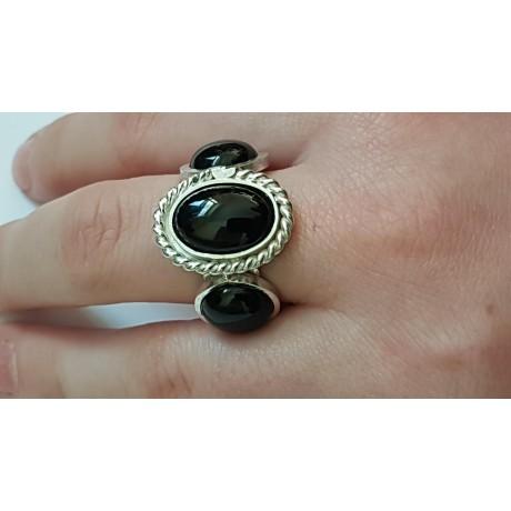Sterling silver ring Dark Catchers, Bijuterii de argint lucrate manual, handmade