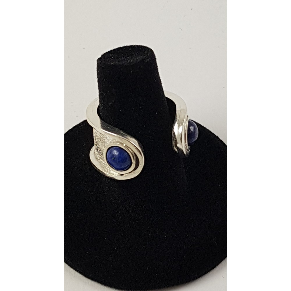 Sterling silver ring Blue Grooming