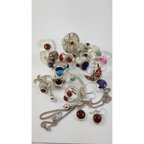 Sterling silver rings Urbandays, Bijuterii de argint lucrate manual, handmade