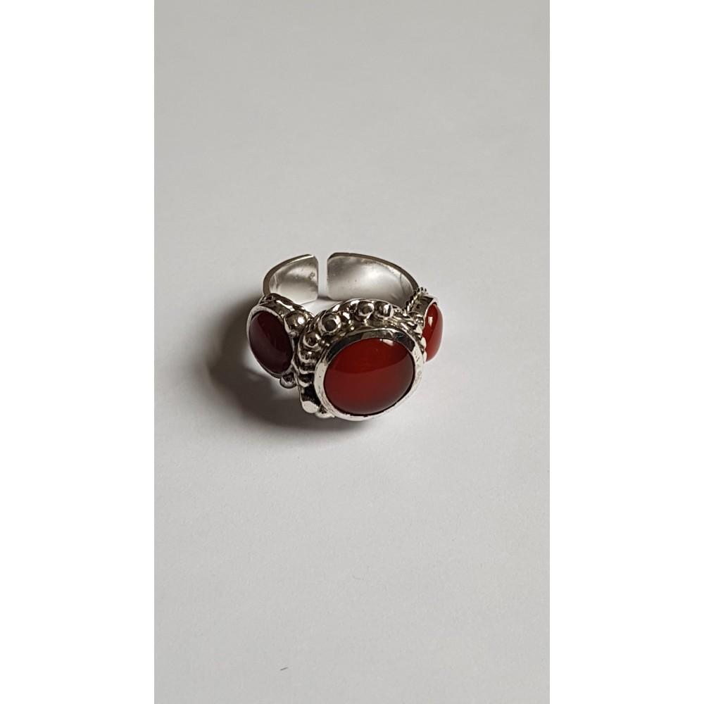 Sterling silver ring Ginger Pitch
