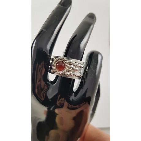 Sterling silver ring Blue Blend, Bijuterii de argint lucrate manual, handmade