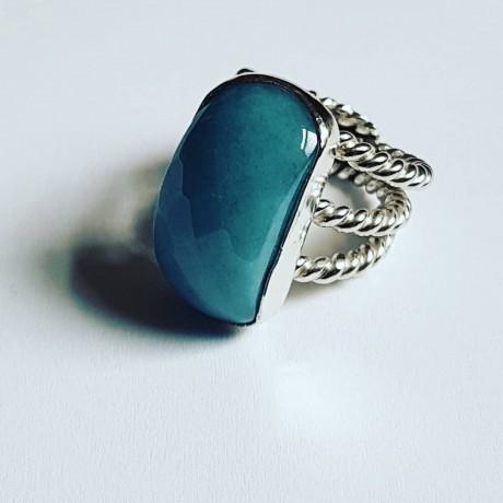 Sterling silver ring Dona Angelicatta, Bijuterii de argint lucrate manual, handmade