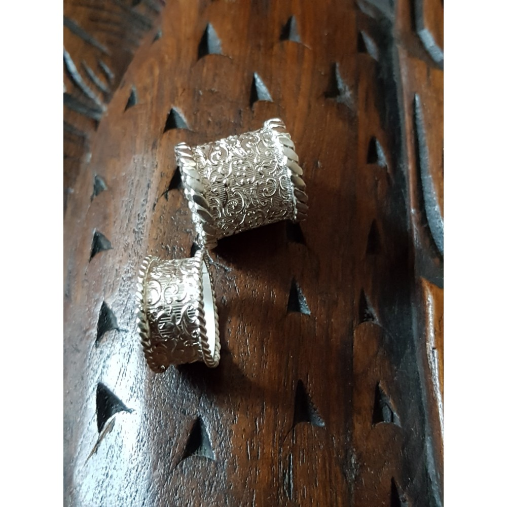 Sterling silver rings Clarity