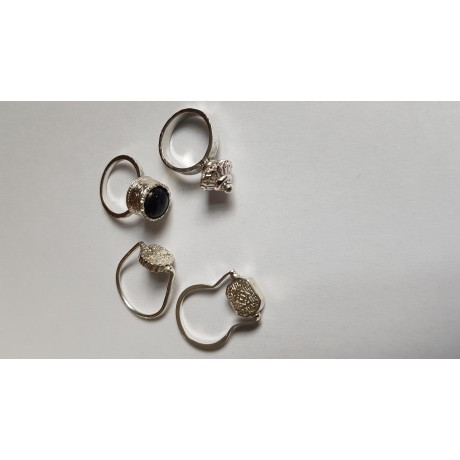 Inele Ag925 Minimalia , Bijuterii de argint lucrate manual, handmade